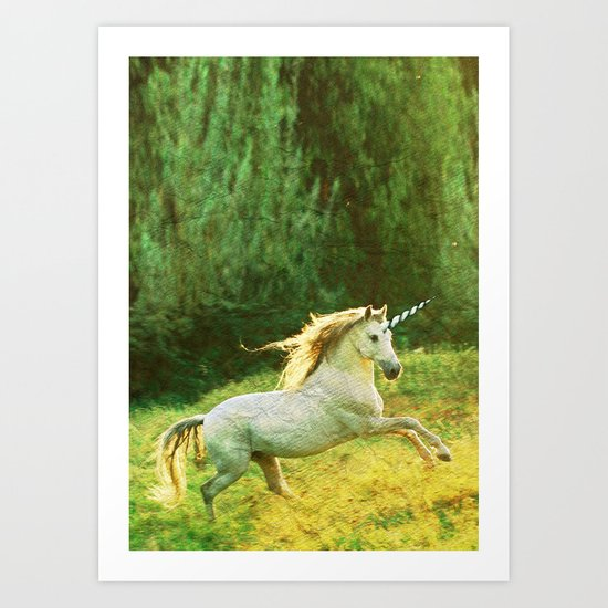 Horsey Business. Art Print