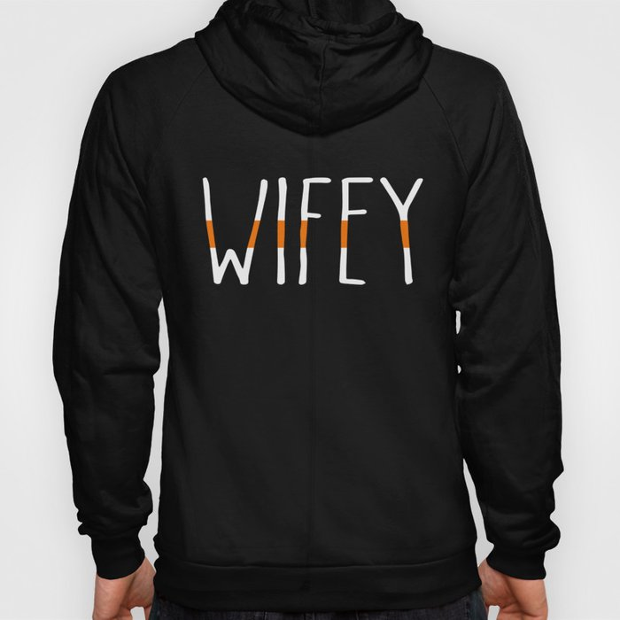 Cute Search And Rescue SAR Wifey Orange Line EMS Wife Gift Hoody