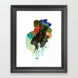 Move!! Move!! Framed Art Print