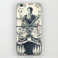 hannibal iPhone & iPod Skins featuring Hannibal by Lunzury