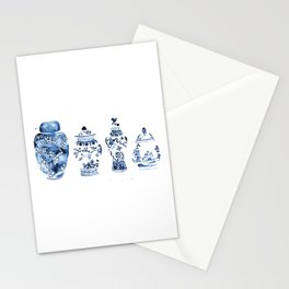 Ginger Jar Collection print Stationery Cards