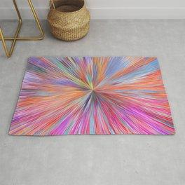 Abstract Sphere Mandala Pink Design 714 Rug