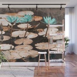 Waterlilies Wall Mural