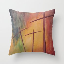 By His Grace Throw Pillow