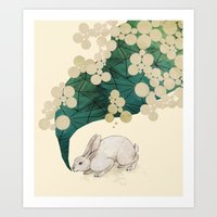 spring Art Prints featuring spring by Laura Graves