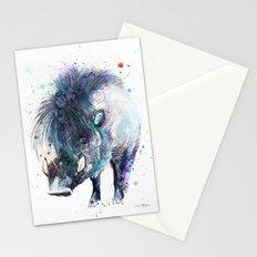 Visayan warty pig Stationery Cards