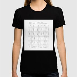 Hug and Share Flip-Book T-shirt