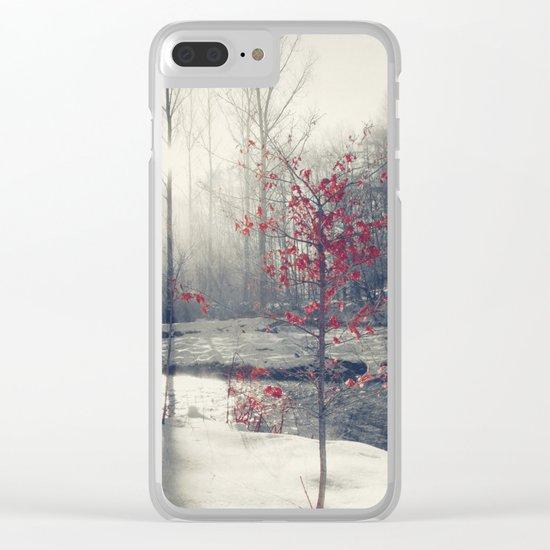 winter's rHapsody Clear iPhone Case
