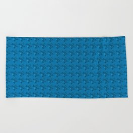 Tiny Rose's-Navy Beach Towel