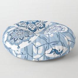 Moroccanblue Floor Pillow