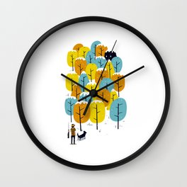 Searching for the monster Wall Clock