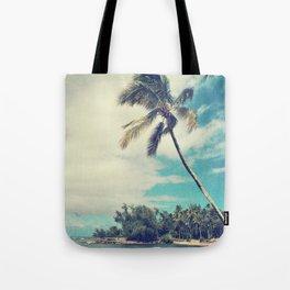 Vintage Tropics Tote Bag