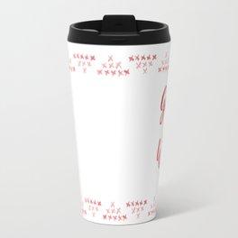 Holiday Fun: Gangster Wrapper Travel Mug