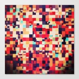 Pixel Play (ii) Canvas Print