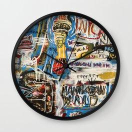 Manhattan World Wall Clock