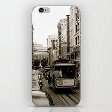 San Francisco Street B&W iPhone & iPod Skin