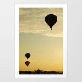 Big Bend Balloon Bash 2012 Art Print