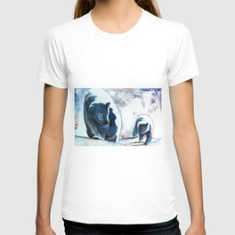 Bears - Don't be afraid, I'll show you the way... by LiliFlore T-shirt