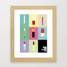 when two become one Framed Art Print
