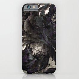 goth peony iPhone Case