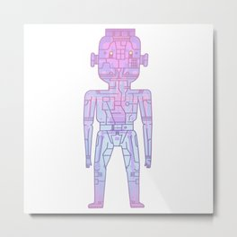 robot - Mr PwarPaps Metal Print