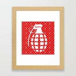 Supreme Grenade - Art print Framed Art Print