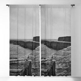 Lyme Regis Pier Blackout Curtain