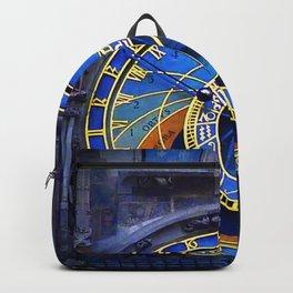 vintage clock_18 Backpack