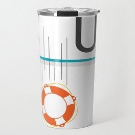 Anyone can change – SUP passion Travel Mug