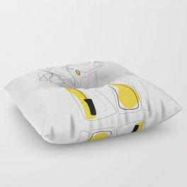 Color Beauty Floor Pillow
