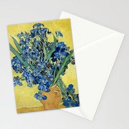 1890-Vincent van Gogh-Irises-73,5x92 Stationery Cards