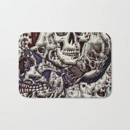 Skulls 3d Bath Mat