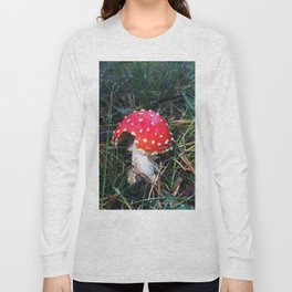 Fairy tale mushroom Long Sleeve T-shirt
