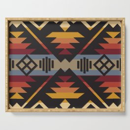 American Native Pattern No. 109 Serving Tray