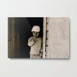 My Neighbor, Papa  Metal Print