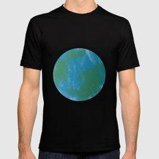 Earth Mens Fitted Tee Black MEDIUM