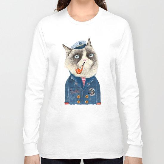 Sailor Cat VII Long Sleeve T-shirt