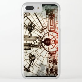 YT-1300 light freighter Clear iPhone Case