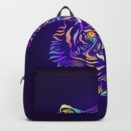 Psychedelic Tiger by #Bizzartino Backpack