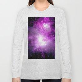Space Nebula Long Sleeve T-shirt