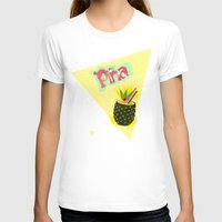 pineapple T-shirts featuring PINEAPPLE by Nika
