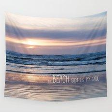 Beach Glow Wall Tapestry