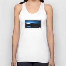 Mt Rainier @ Sunset Unisex Tank Top