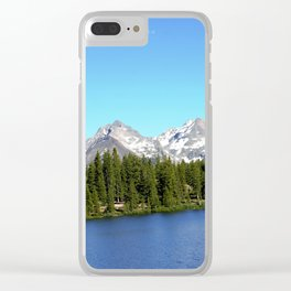 Molas Lake in the San Juan Mountains Clear iPhone Case