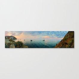 Hamilton Cove, Catalina Island Canvas Print
