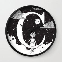 Dreamy C Wall Clock