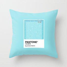 Pantone Series – Summer Swim Throw Pillow