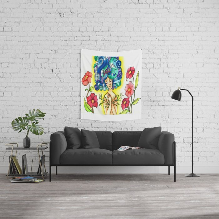Leaf Lover Wall Tapestry