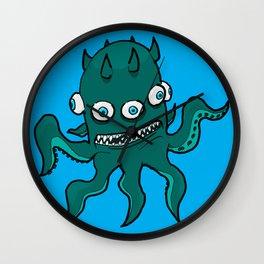 Mutant Squid - by Rui Guerreiro Wall Clock