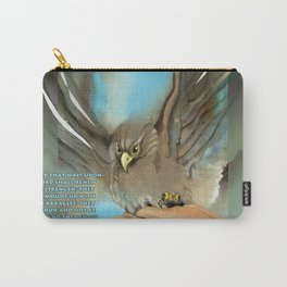 Wings Of Eagles Carry-All Pouch